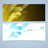 Web header or banner set. Royalty Free Stock Image