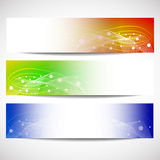 Web headers, set of  banners Stock Photo