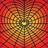 Web-heart Stock Image