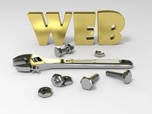 WEB-Hilfsmittel lizenzfreie abbildung