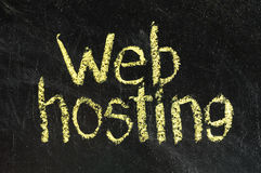 Web-Hosting Stockbild