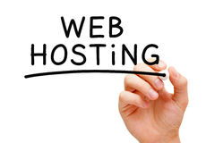 Web hosting Obrazy Stock