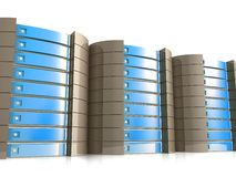 Web Hosting Equipment Royalty Free Stock Image
