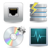 Web Hosting Icon Sets Royalty Free Stock Image