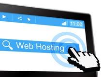 Web Hosting Represents Www Webhosting And Webhost Royalty Free Stock Photo