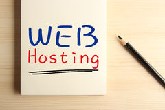 Web hosting Royalty Free Stock Photos