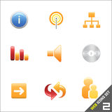 web icon 2 vector Stock Images
