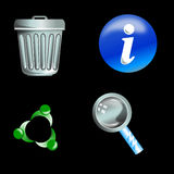 Web icon Stock Photography