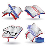 Web icon book holy bible note Royalty Free Stock Images