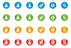 Web Icon Buttons Royalty Free Stock Photo