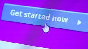 Web Icon stock footage
