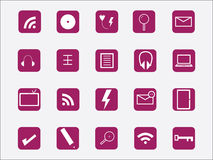 Web icon Stock Images