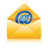 Web icon in envelope Stock Photos