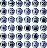 Web icon pack Stock Image