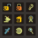 Web Icon Series Stock Photography