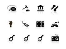Web icon series Royalty Free Stock Photos