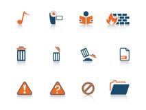 Web icon series Stock Photo