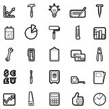 Web icon set 1 (easily editable) Stock Photography
