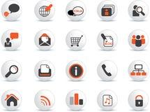 Web icon set Stock Photo