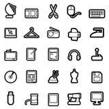 Web icon set 2 (easily editable) Stock Image