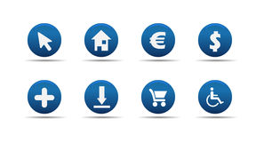 Web icon set 4 | Aloha series Royalty Free Stock Image
