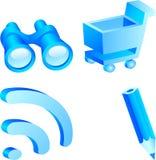 Web icon set. Royalty Free Stock Images
