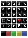 Web icon Set Royalty Free Stock Photo