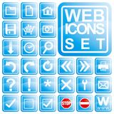 Web Icon Set Stock Photo