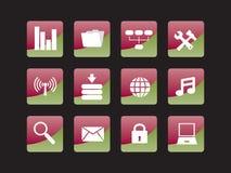 Web icon set Stock Image