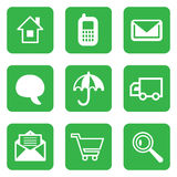Web icon set. It can be used as - logo, pictogram, icon, infographic element Stock Photo