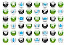 Web Icon Set-part2 Stock Photo