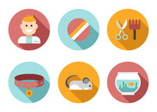 Web icon set Pet, Vet, Pet Shop Royalty Free Stock Image