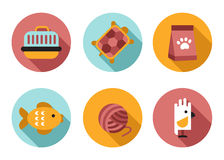 Web icon set Pet, Vet, Pet Shop Stock Image