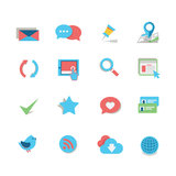 Web Icon Set. A set of simple web related icons. EPS 10, no transparencies Royalty Free Stock Photo