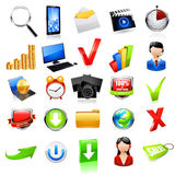 Web Icon Set. Vector Royalty Free Stock Photo