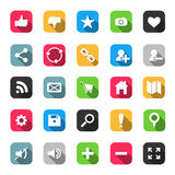 Web Icon set Royalty Free Stock Image