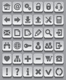 Web Icon set. Vector Illustration Stock Photo