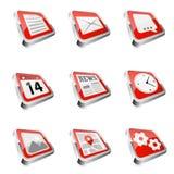 Web icon set. Royalty Free Stock Photos
