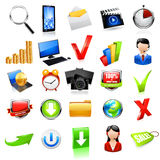 Web icon set. Vector Royalty Free Stock Image