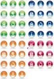 Web icon. Web Site & Internet Icon Design Royalty Free Stock Image