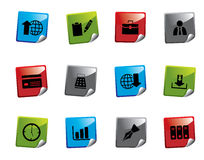 Web icon sticker series. Set of web icons from a series in my portfolio Stock Images
