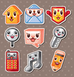 Web icon stickers Stock Image