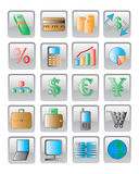 The web icon. vector image. 20 buttom Stock Photo
