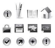 Web Icon Vector Set Royalty Free Stock Photos