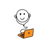 Web icon webinar Stock Image
