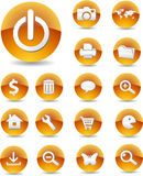 Web Icons 01 Royalty Free Stock Photo