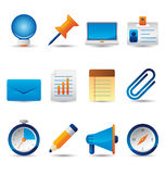 Web icons. Professional icons for websites, applications or presentations Stock Photo