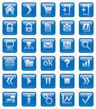 Web icons. Hand vector illustration Royalty Free Stock Photography