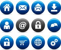 Web  icons. Royalty Free Stock Photos