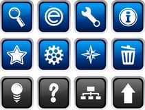 Web icons. Royalty Free Stock Images